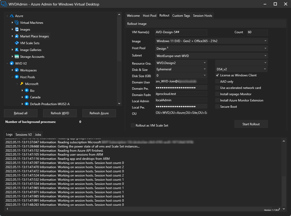 WVD Admin - A native administration Gui for Windows Virtual Desktop |  ITProCloud Blog
