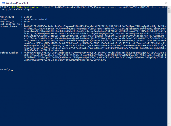 OneDrive PowerShell Module - Added support for OneDrive for Business